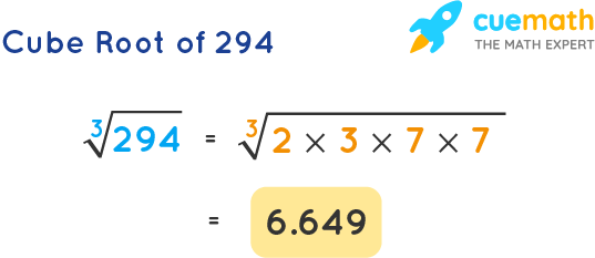 Cube Root of 294