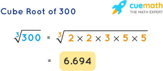 Cube Root of 300