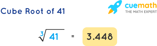 Cube Root of 41