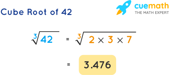 Cube Root of 42