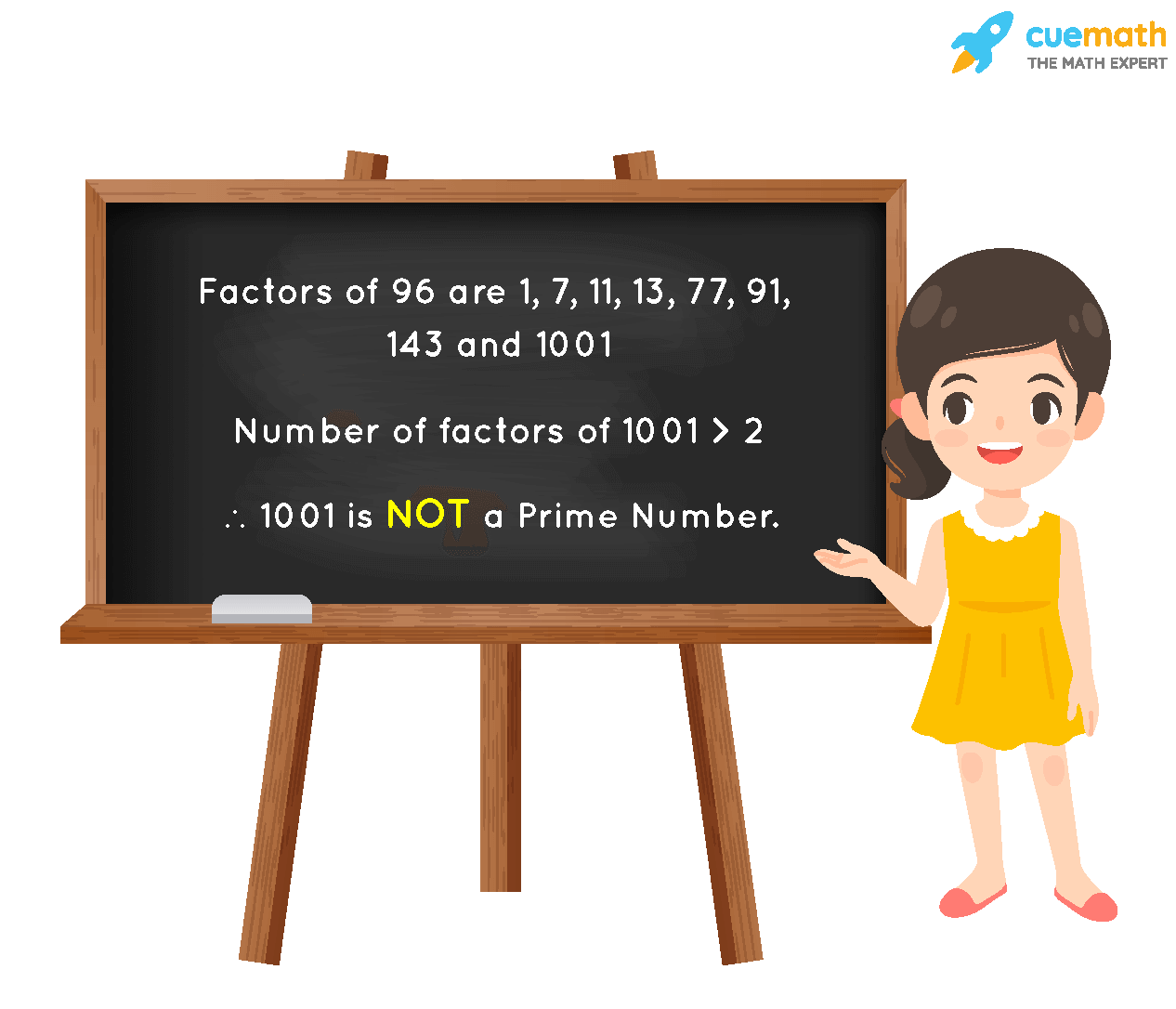 Is 1001 a Prime Number?