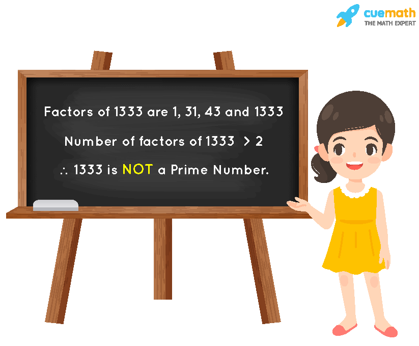 Is 1333 a Prime Number?