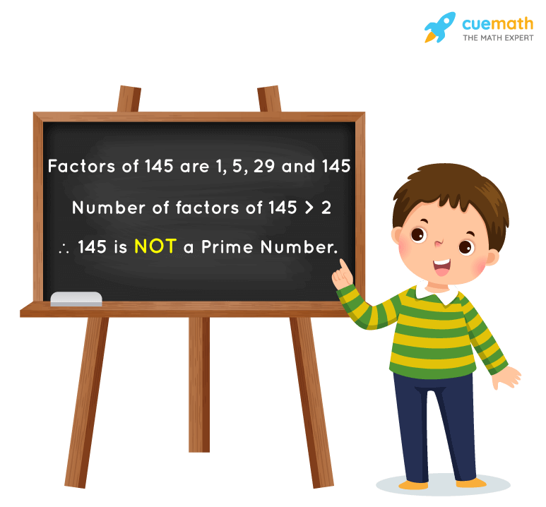 Is 145 a Prime Number?