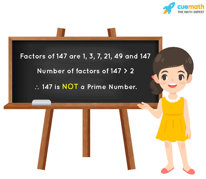 Is 147 a Prime Number?