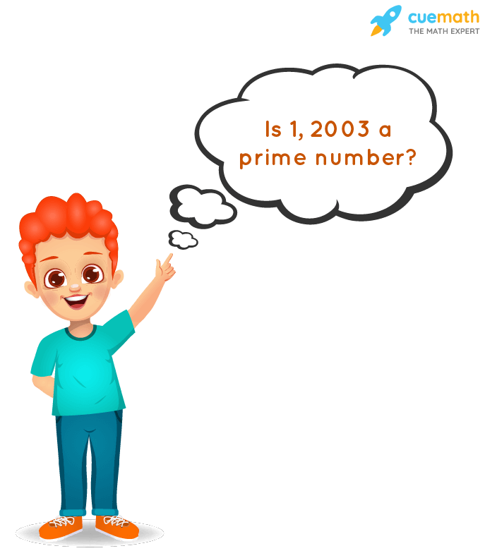 Is 2003 a Prime Number?