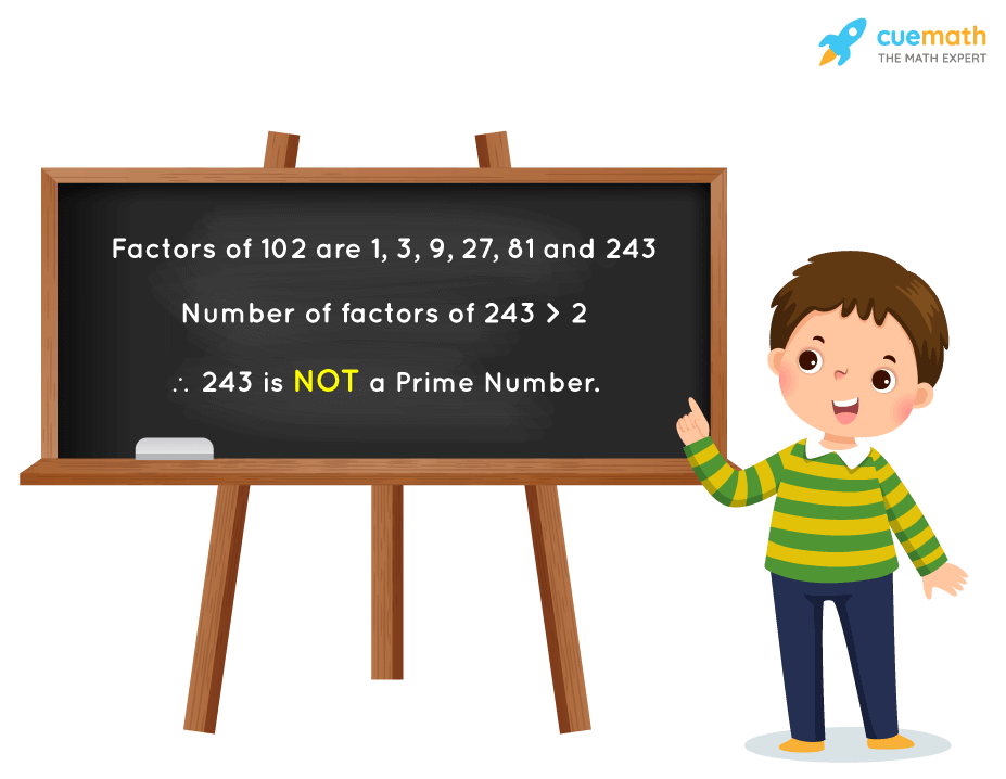 Is 243 a Prime Number?
