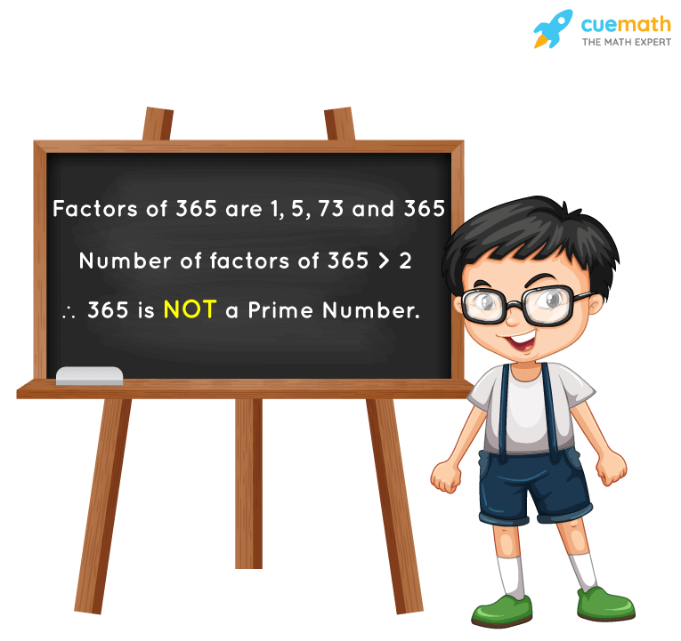Is 365 a Prime Number?