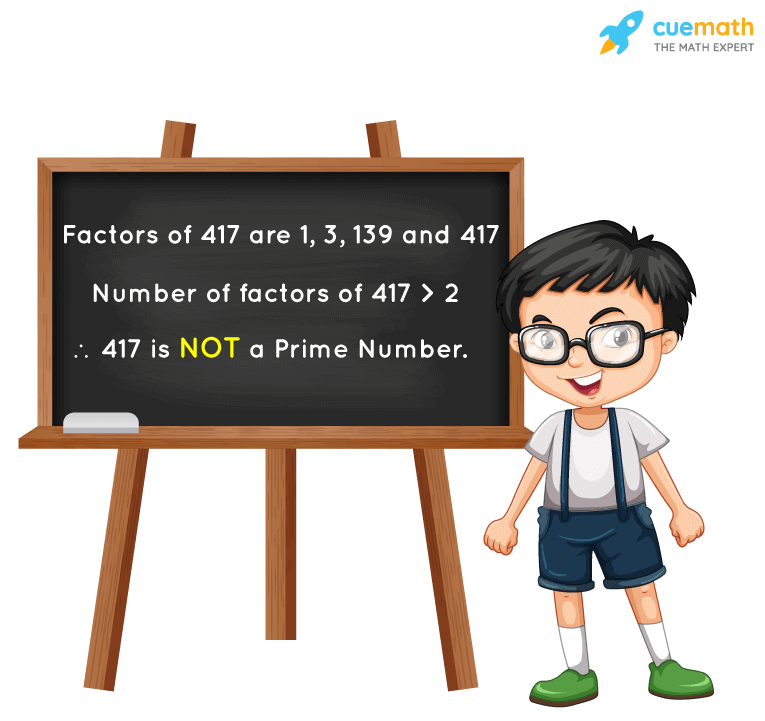Is 417 a Prime Number?