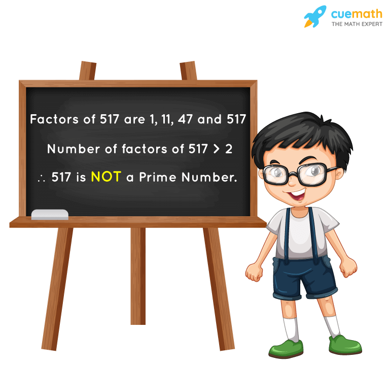 Is 517 a Prime Number?