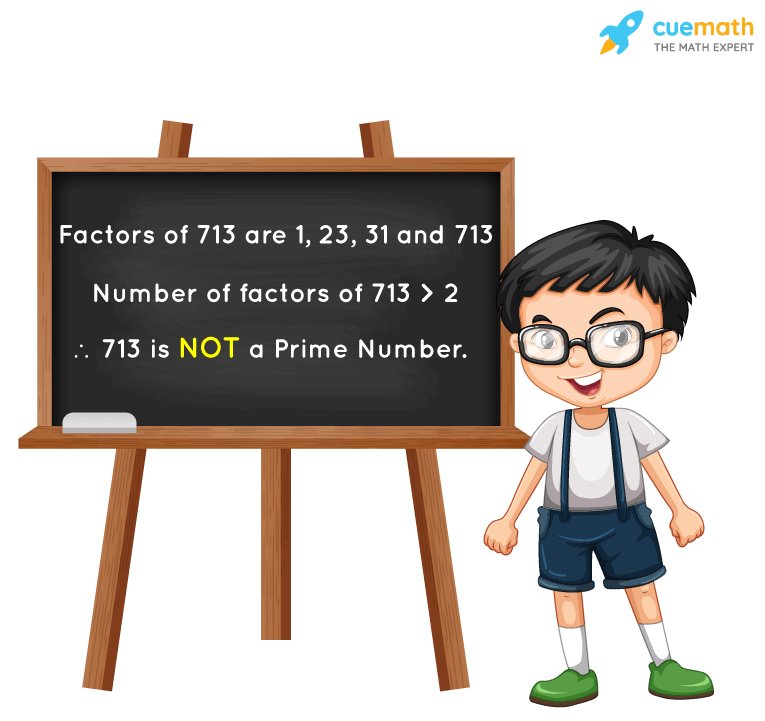 Is 713 a Prime Number?