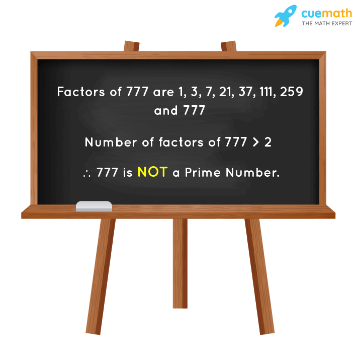 Is 777 a Prime Number?