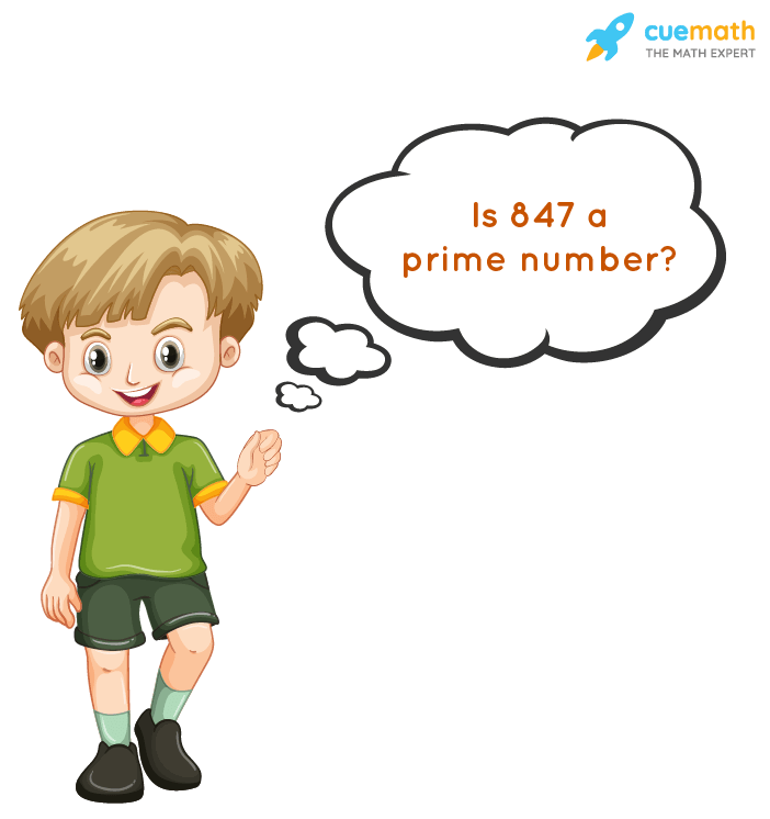 Is 847 a Prime or Composite?