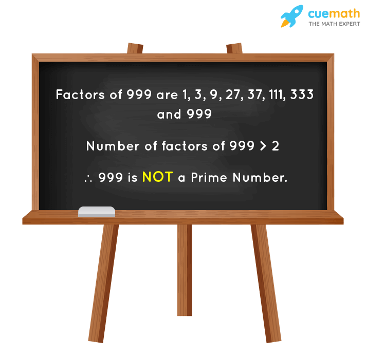 Is 999 a Prime Number?
