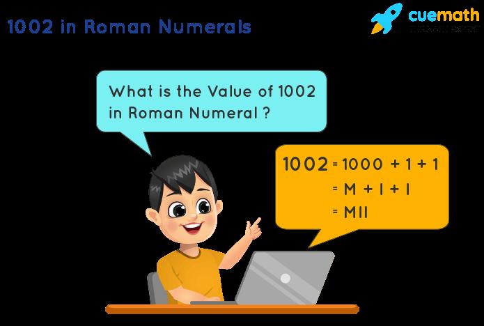 1002 in Roman Numerals