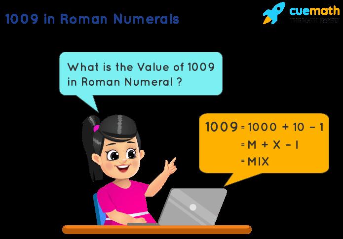 1009 in Roman Numerals