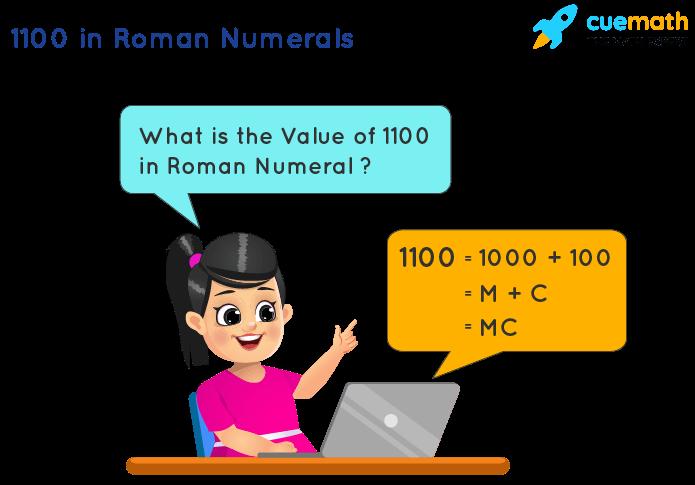 1100 in Roman Numerals