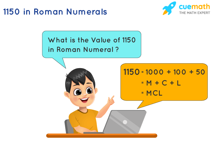 1150 in Roman Numerals