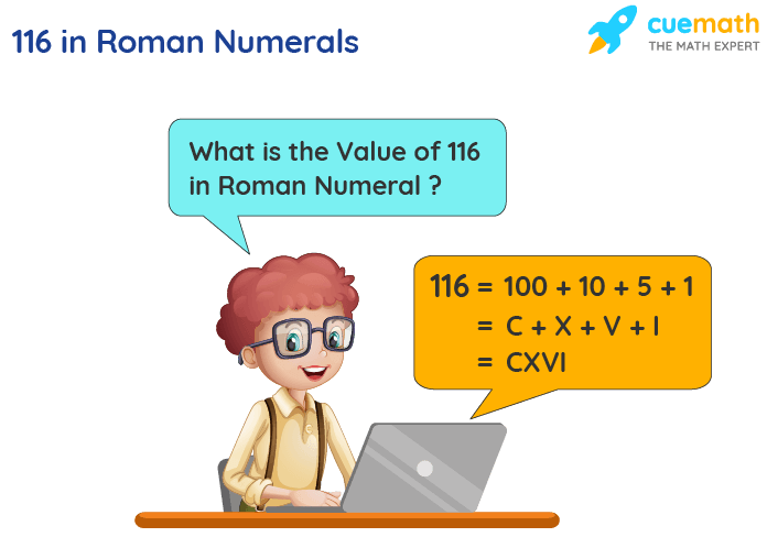 116 in Roman Numerals