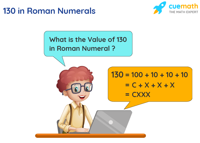 130 in Roman Numerals