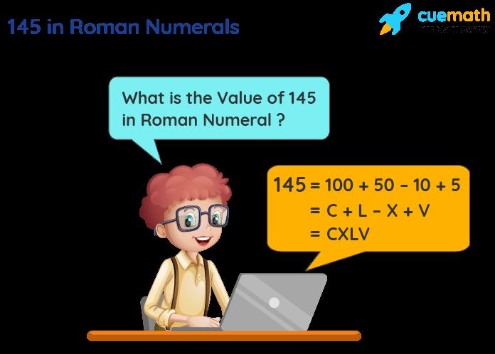 145 in Roman Numerals