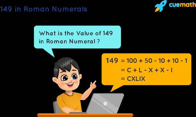 149 in Roman Numerals