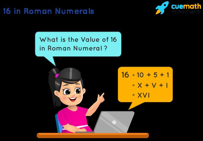 16 in Roman Numerals