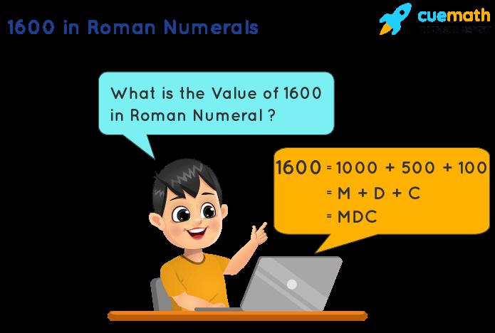 1600 in Roman Numerals