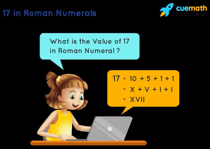17 in Roman Numerals