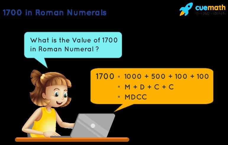 1700 in Roman Numerals