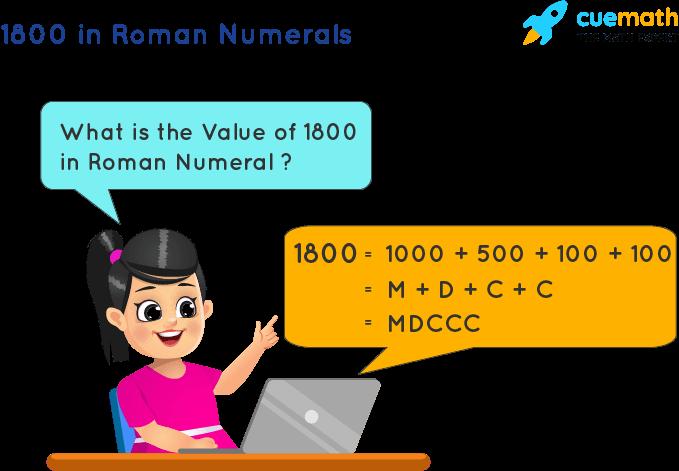 1800 in Roman Numerals
