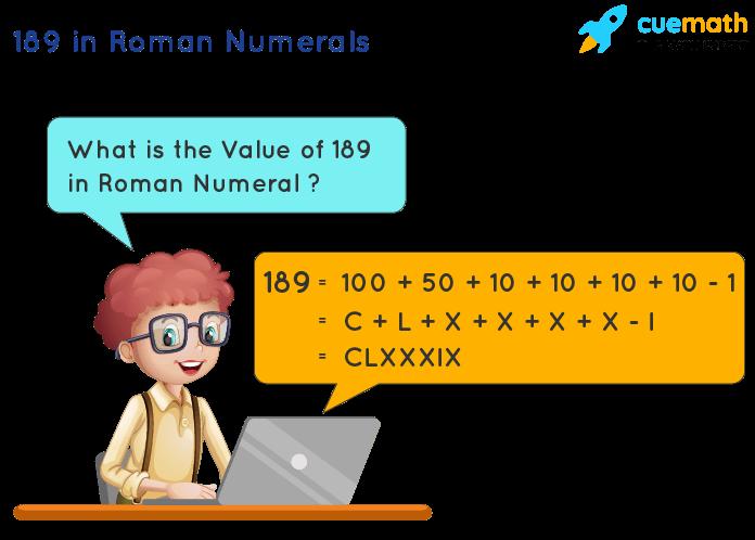 189 in Roman Numerals