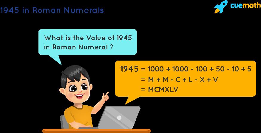 1945 in Roman Numerals