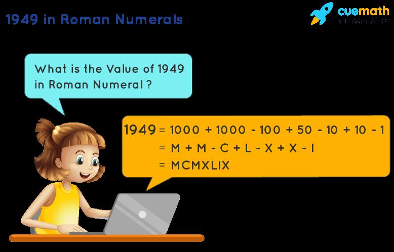 1949 in Roman Numerals
