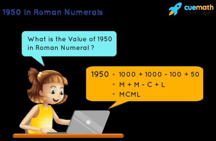 1950 in Roman Numerals