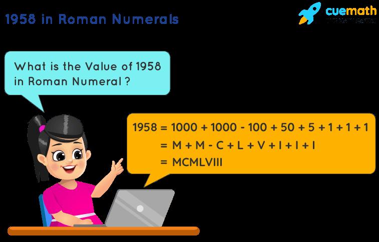 1958 in Roman Numerals