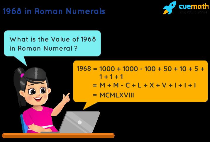 1968 in Roman Numerals