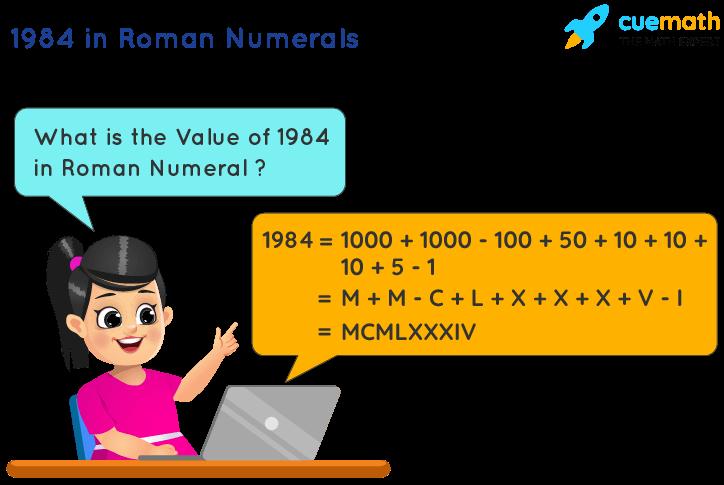 1984 in Roman Numerals