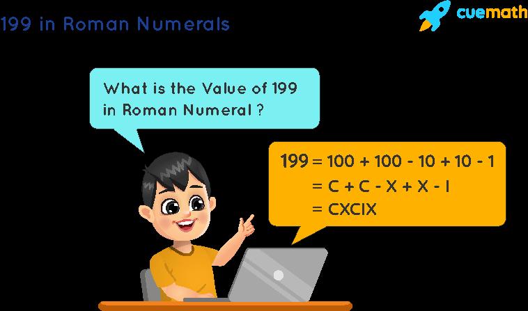 199 in Roman Numerals