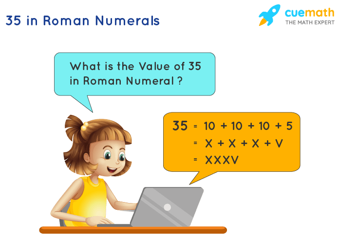 35 in Roman Numerals