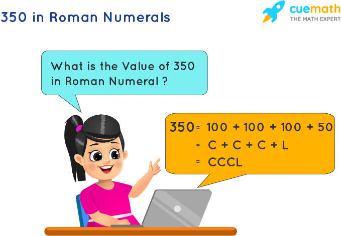 350 in Roman Numerals