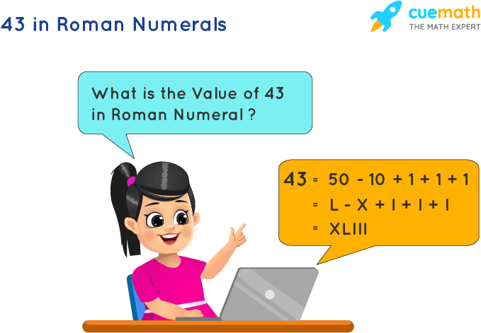 43 in Roman Numerals