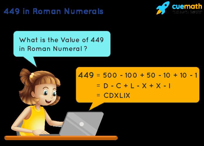 449 in Roman Numerals