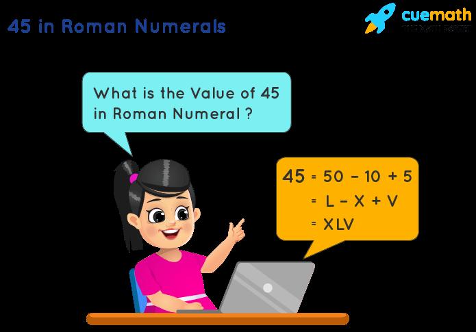 45 in Roman Numerals
