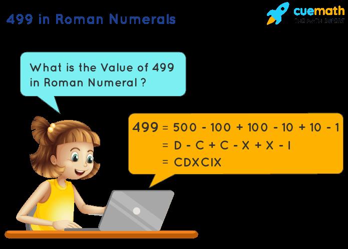 499 in Roman Numerals