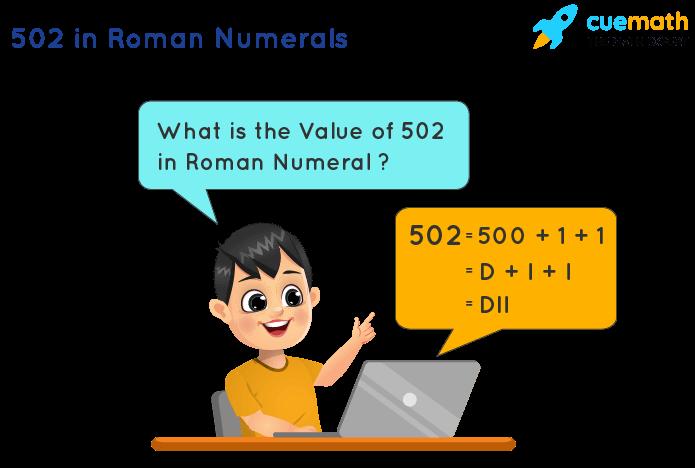 502 in Roman Numerals