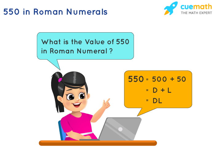 550 in Roman Numerals