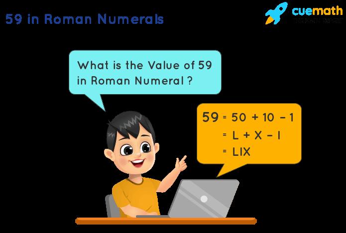 59 in Roman Numerals