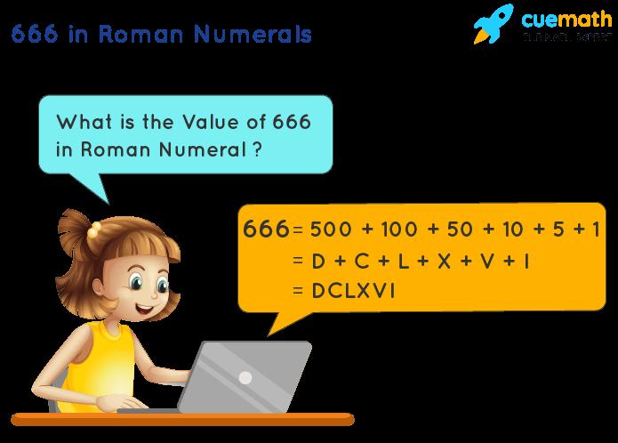 666 in Roman Numerals