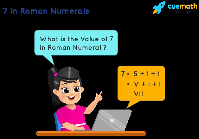 7 in Roman Numerals