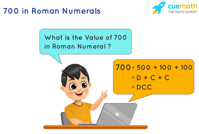 700 in Roman Numerals